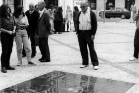 Réplica da Laje em honra das vitîmas da miséria, Lisboa, rua Agusta